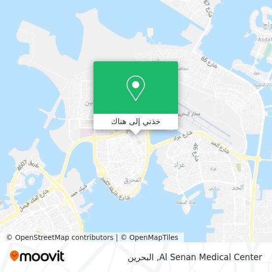 خريطة Al Senan Medical Center