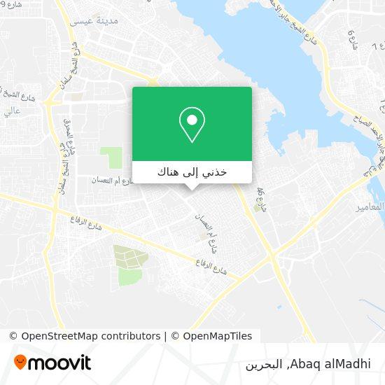 خريطة Abaq alMadhi