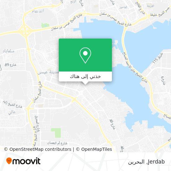 خريطة Jerdab