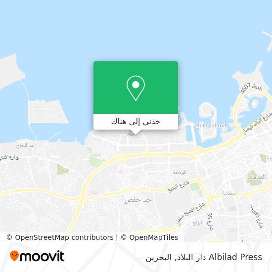 خريطة Albilad Press دار البلاد