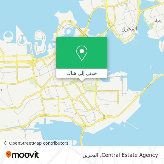 خريطة Central Estate Agency