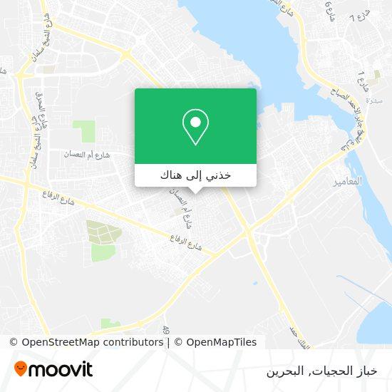خريطة خباز الحجيات