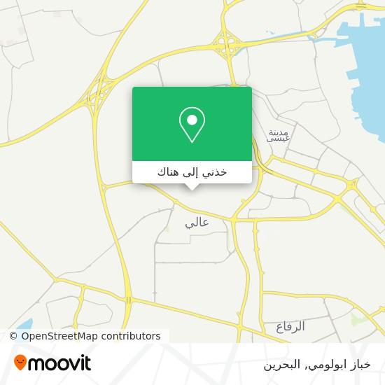 خريطة خباز ابولومي