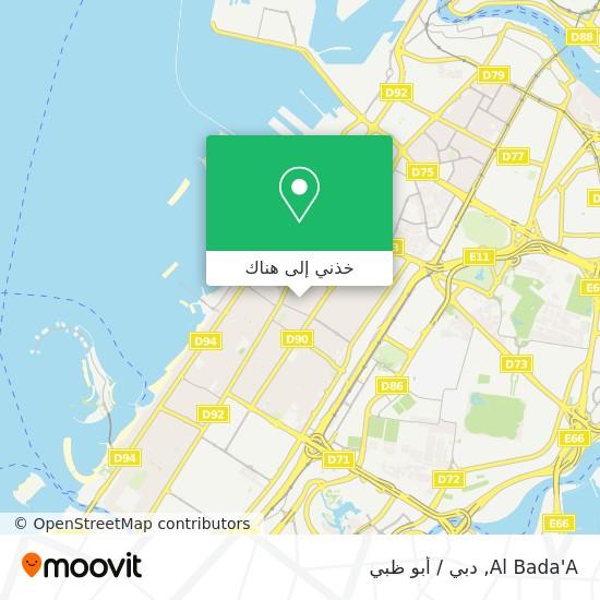 خريطة Al Bada'A