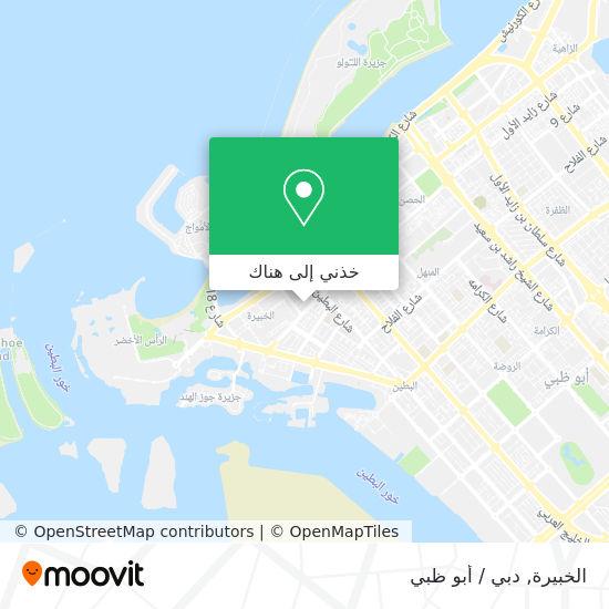خريطة Al Khubeirah