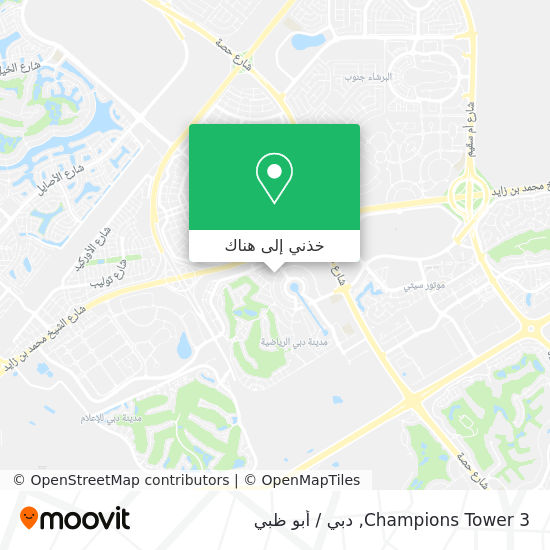 خريطة Champions Tower 3