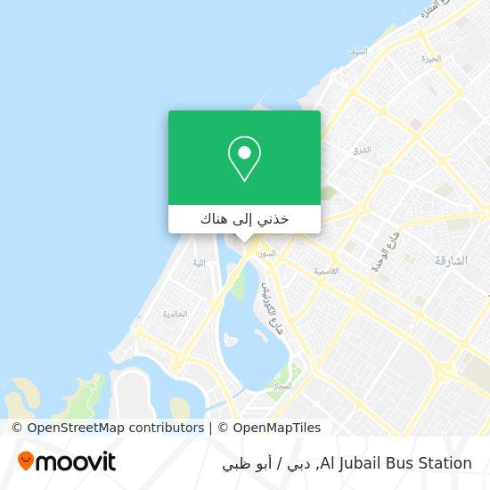 خريطة Al Zubail Bus Stands