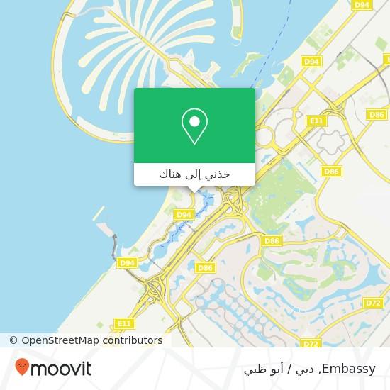 خريطة Embassy
