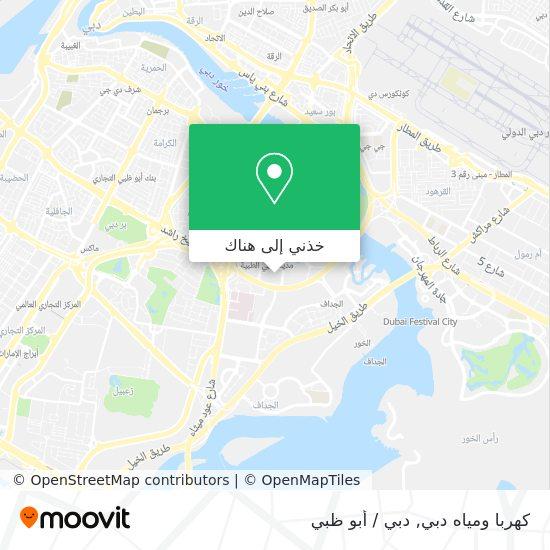 خريطة Dewa Head Office