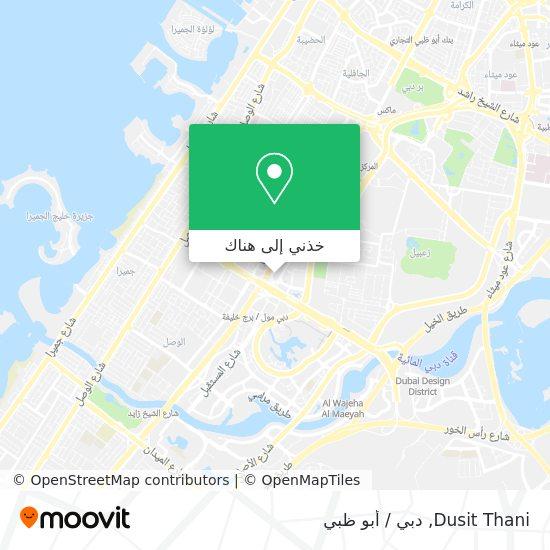 خريطة Dusit Thani