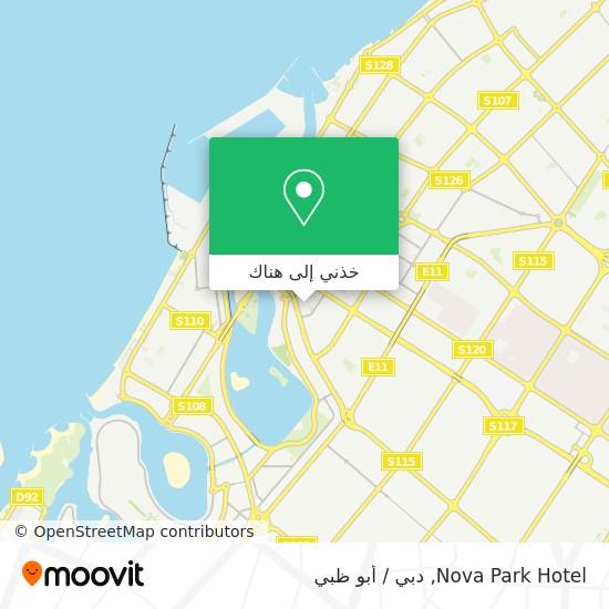 خريطة Nova Park Hotel