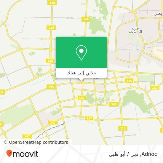 خريطة Adnoc