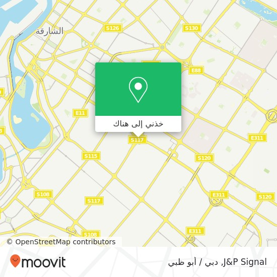 خريطة J&P Signal