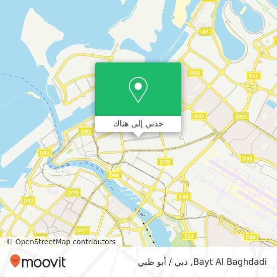 خريطة Bayt Al Baghdadi