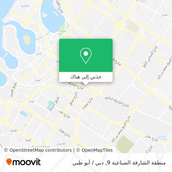 خريطة Industrial Area 9