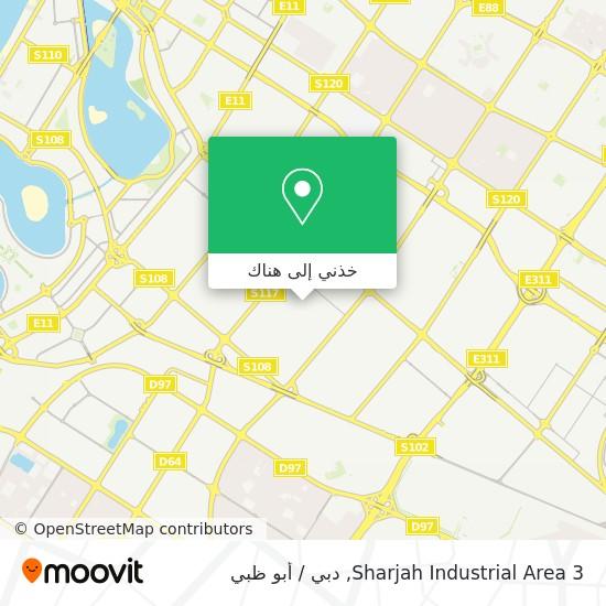 خريطة Sharjah Industrial Area 3