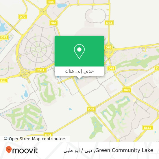 خريطة Green Community Lake