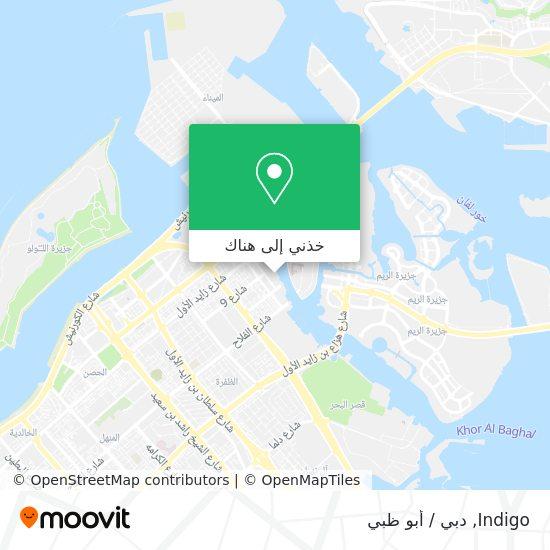خريطة Indigo