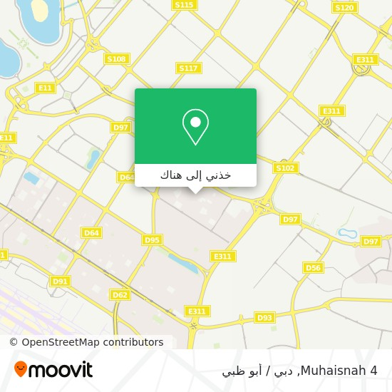 خريطة Muhaisnah 4