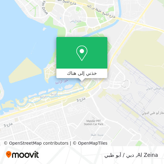 خريطة Al Zeina