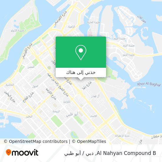 خريطة Al Nahyan Compound B