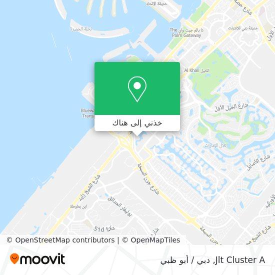 خريطة Jlt Cluster A