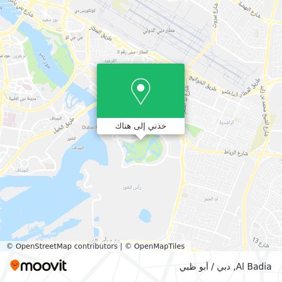 خريطة Al Badia