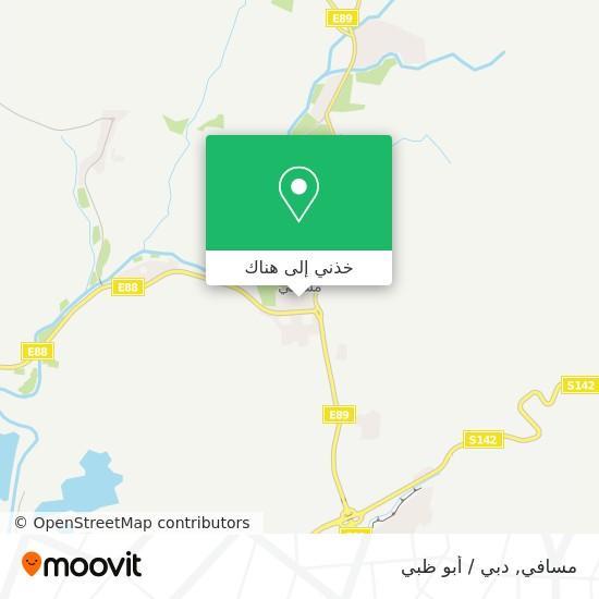 خريطة Masafi,