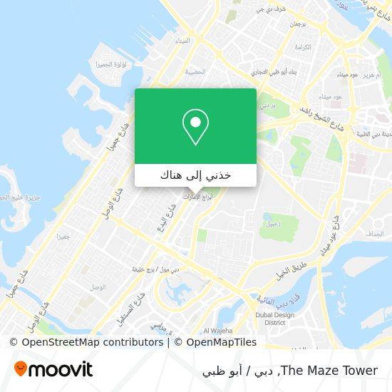 خريطة The Maze Tower