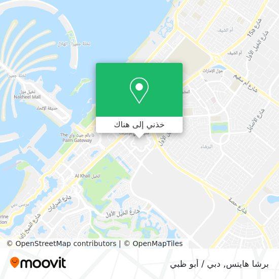 خريطة Dubai Media City Extension