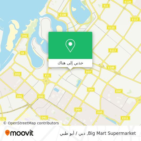 خريطة Big Mart Supermarket