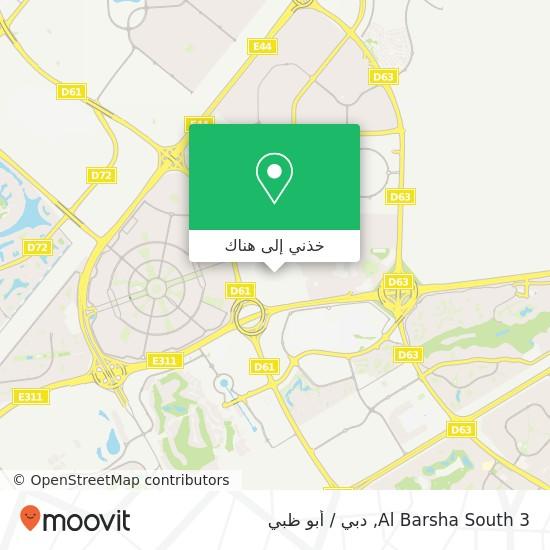 خريطة Al Barsha South 3