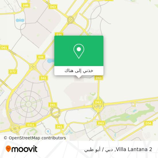 خريطة Villa Lantana 2