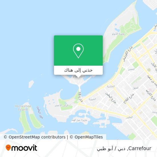 خريطة Carrefour