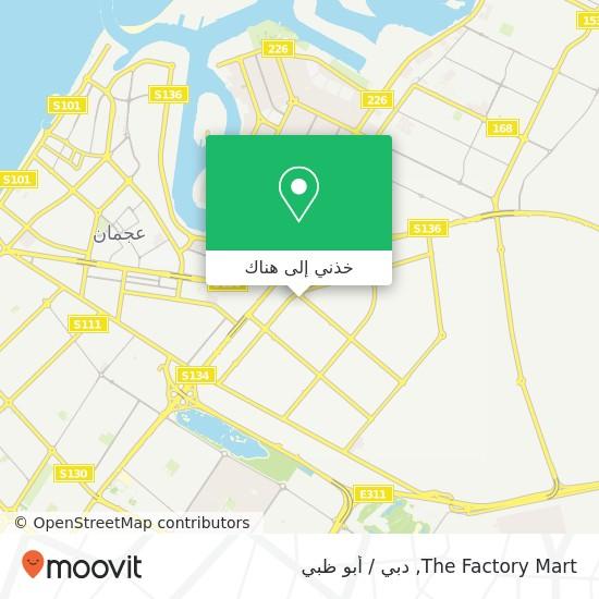 خريطة The Factory Mart