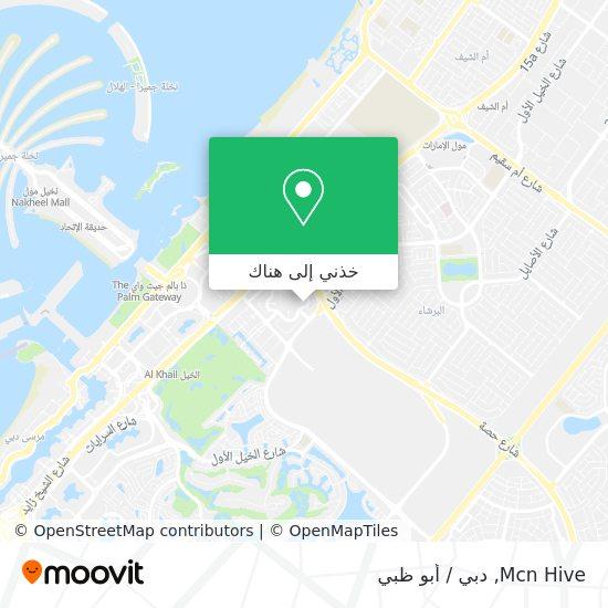 خريطة Mcn Hive