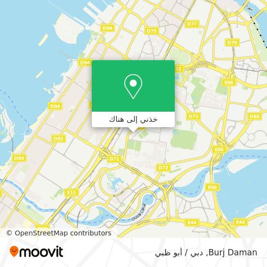 خريطة Burj Daman
