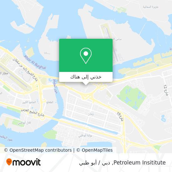 خريطة Petroleum Insititute