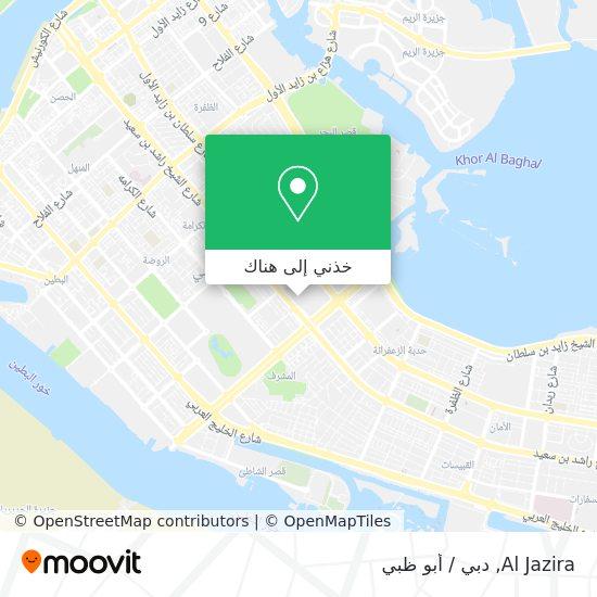 خريطة Al Jazira