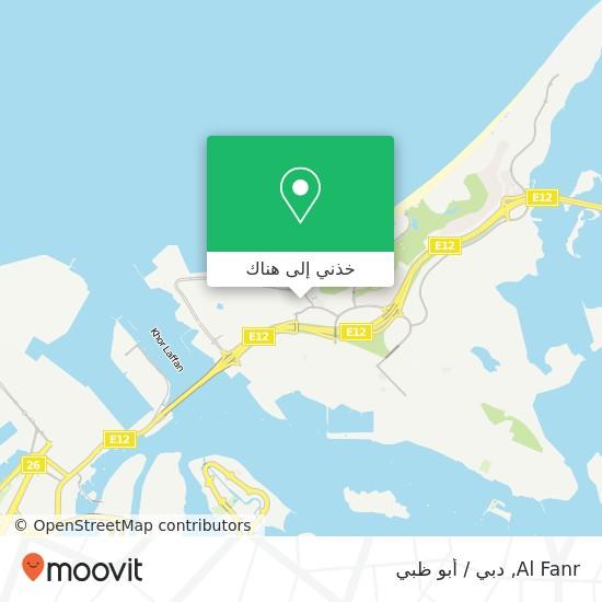 خريطة Al Fanr