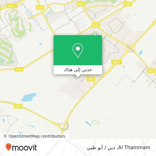 خريطة Al Thammam