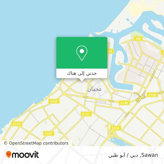 خريطة Sawan
