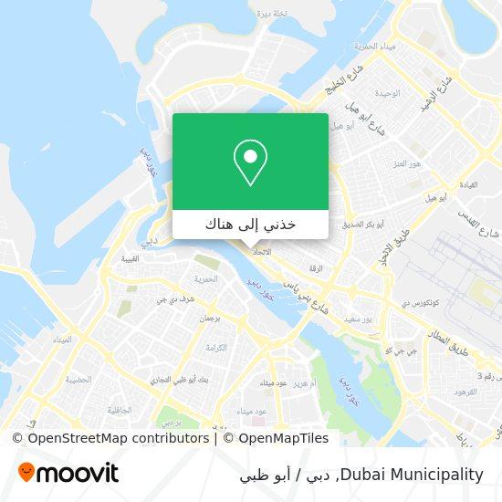 خريطة Dubai Municipality