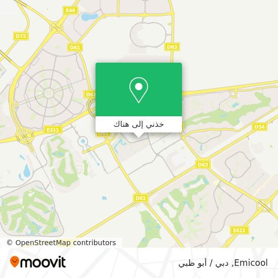 خريطة Emicool