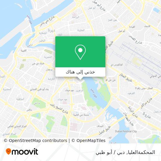 خريطة Dubai Public Prosecution
