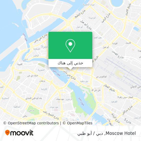 خريطة Moscow Hotel