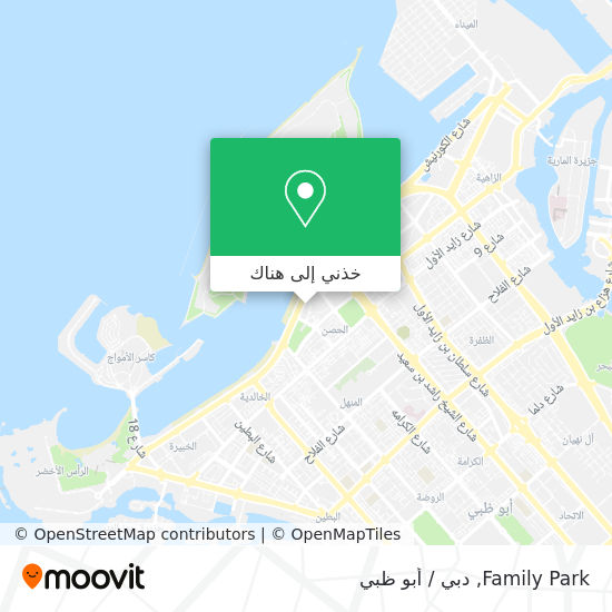 خريطة Family Park