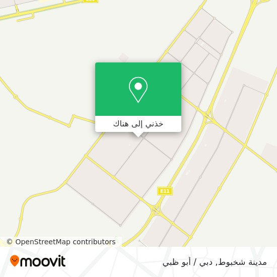خريطة Khalifa City B