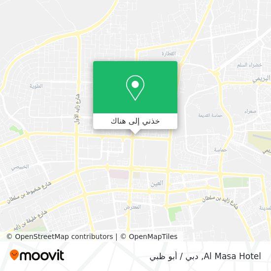 خريطة Al Masa Hotel
