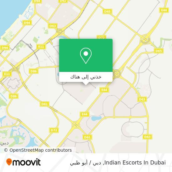 خريطة Indian Escorts In Dubai
